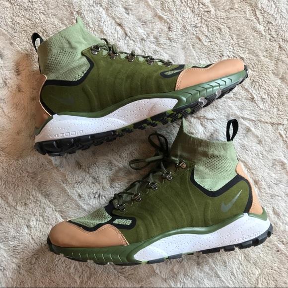 b7be56013ed8 🔥NEW Nike Zoom Talaria Mid Flyknit Premium Green.  M 5b313067819e90617ae3784f